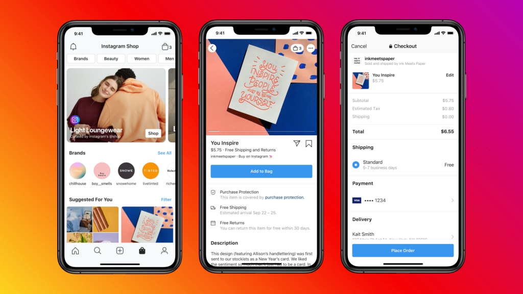 Instagram Shop - the new feature from Instagram